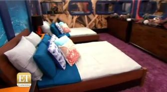 Big Brother 17 House - driftwood bedroom