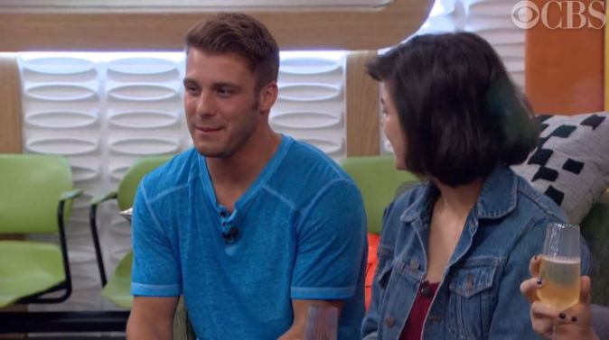 Big Brother 18 Houseguests champagne toast - 03