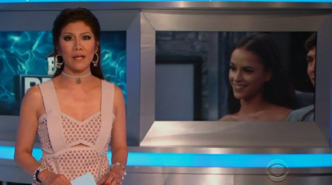 Julie Chen hosts Big Brother 19 week 4 eviction