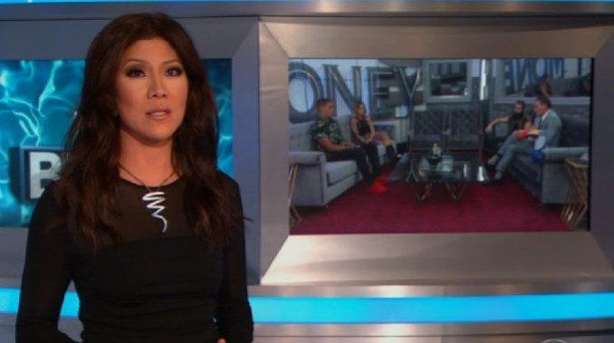 Julie Chen hosts Big Brother 19 F4 eviction
