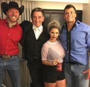 Jason, Kevin, Elena, and Mark after BB19
