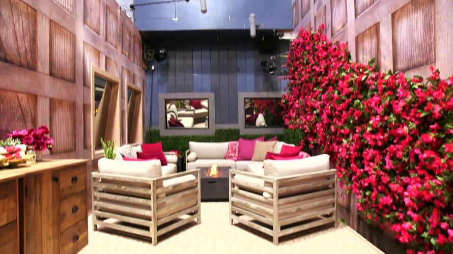 Celebrity Big Brother backyard 01