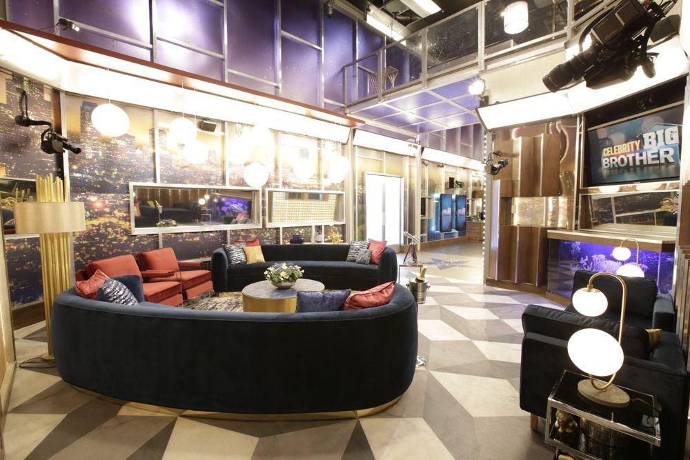 Celebrity Big Brother 2018 House – Living Room 01