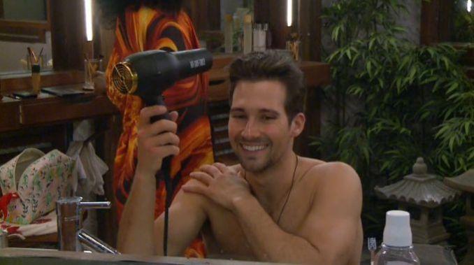 James Maslow on Celebrity Big Brother Feeds