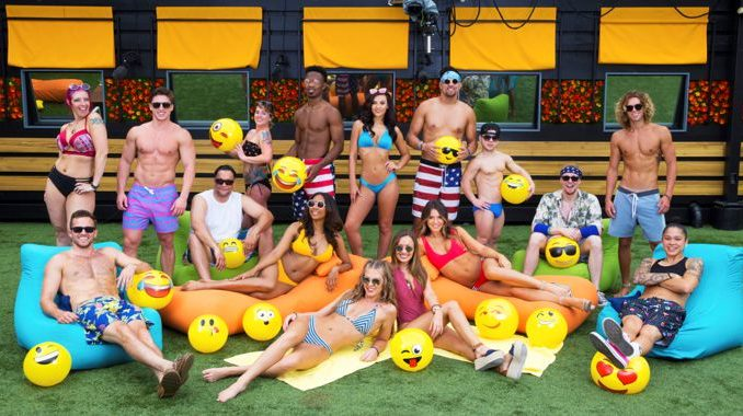 Big Brother 20 cast in the backyard