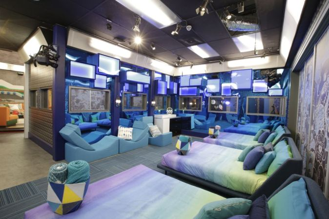 Big Brother 20 House - bedroom