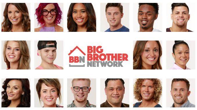 Big Brother 20 Houseguests