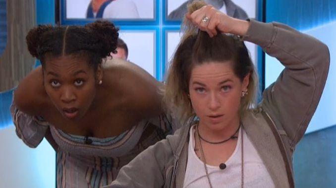 Sam and Bayleigh on Big Brother 20