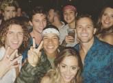 Tyler, Brett, Kaycee, Angela, Winston and Kaitlyn