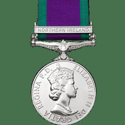 General Service Medal GSM-CSM 1962-2007