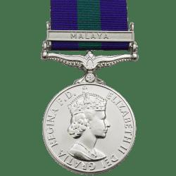 General Service Medal GSM 1918-1962 EIIR