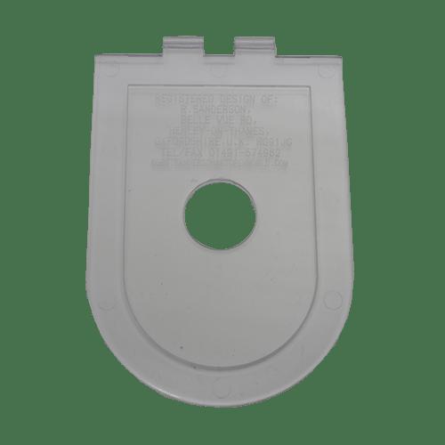 pocket medal holder full size flat