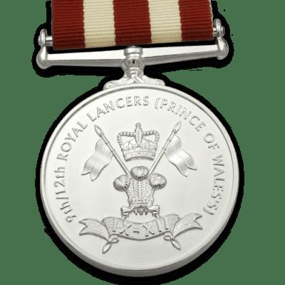 9-12th Royal Lancers Medal