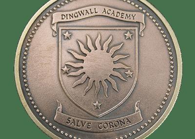Dingwall Academy Medal