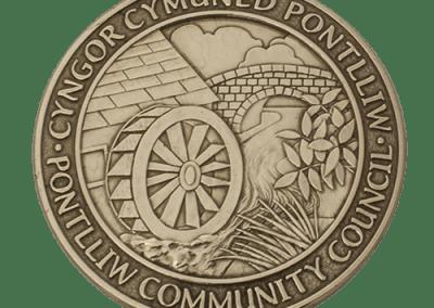 Pontlliw Community Council Millennium Medal