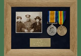 Photo Medal Display Frame