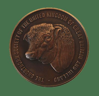 National Trust. Winston Churchill's Shorthorn Cow Medal