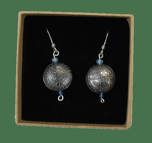 Modbury Earrings in box