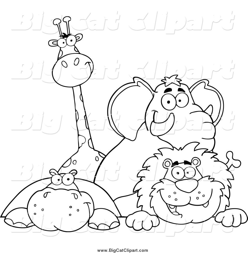 Royalty Free Giraffe Stock Big Cat Designs