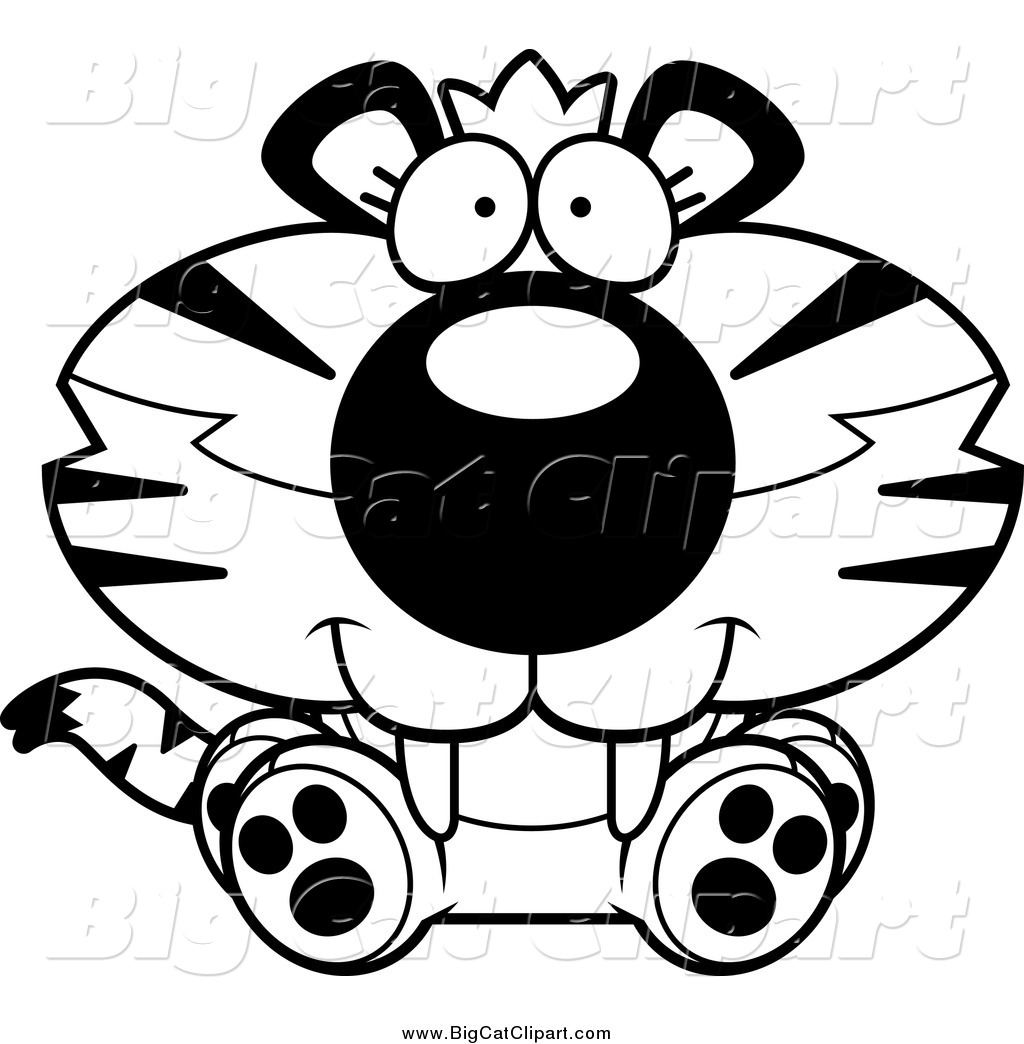 Royalty Free Tiger Sitting Stock Big Cat Designs