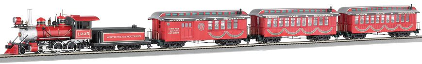 Bachmann Northern Lights Train Set