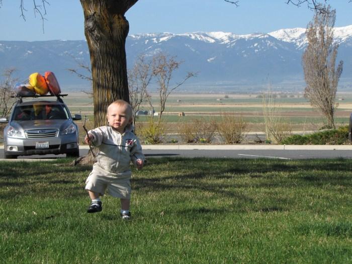 путешествие на машине с малышом
