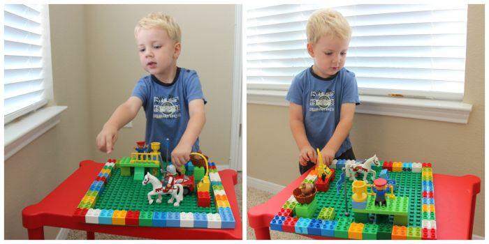 любитель LEGO