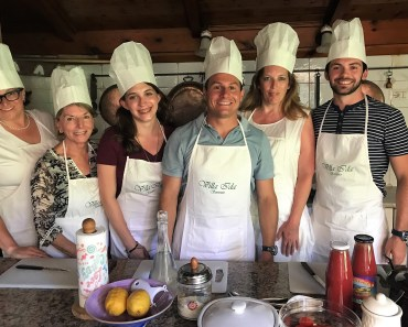 An Italian Cooking Class at Villa Ida Is A Must Stop When In Sorrento