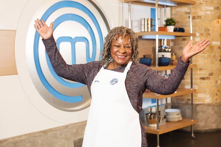 Motown legend Martha Reeves set to compete in the BBC's Celebrity Masterchef.
