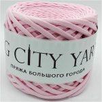 Βαμβακερό νήμα για πλέξιμο, Big City Yarn, Ροζ