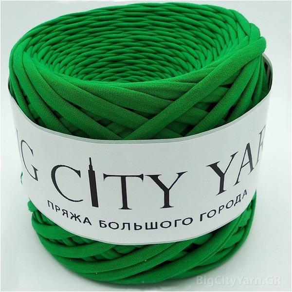 Βαμβακερό νήμα για πλέξιμο, Big City Yarn, Πράσινο