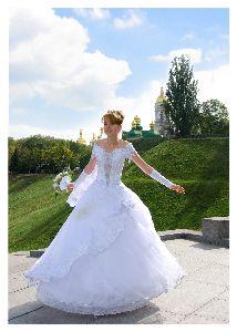 Чистим свадебное платье дома