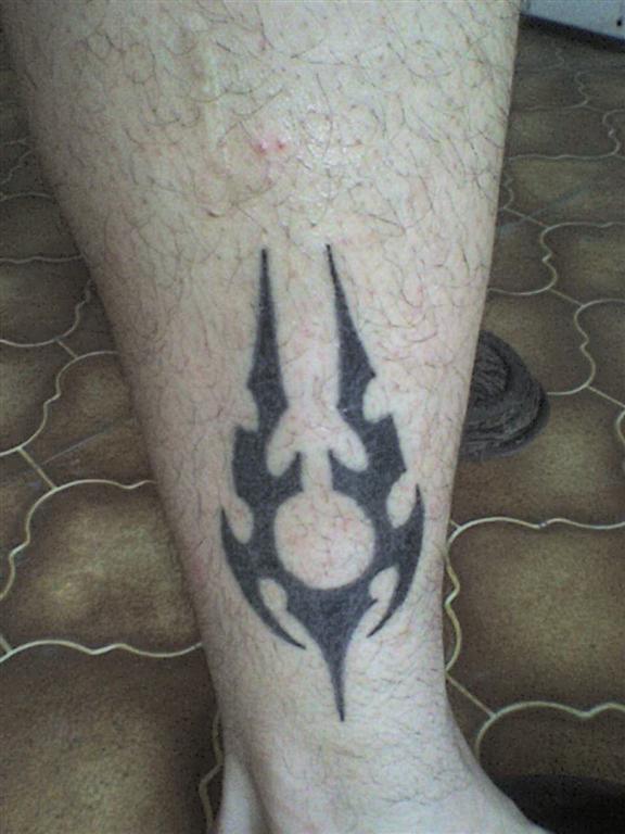 Tatto-leg
