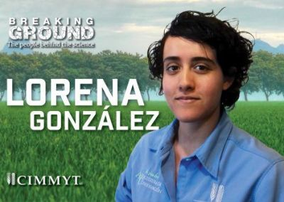 CIMMYT's Lorena Gonzalez fast-forwards action on hunger using technology