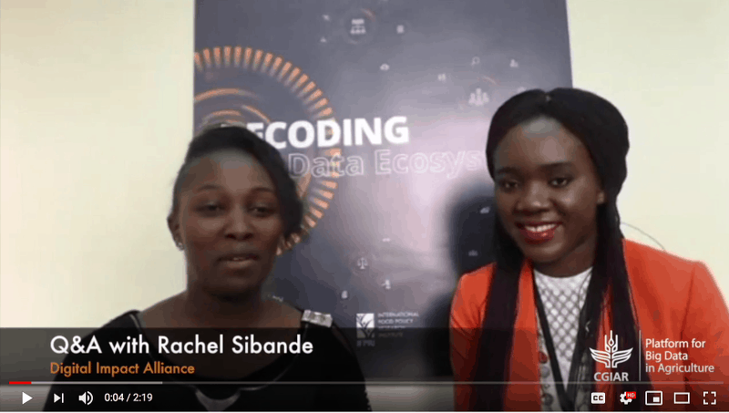 Q&A with Rachel Sibande from Digital Impact Alliance