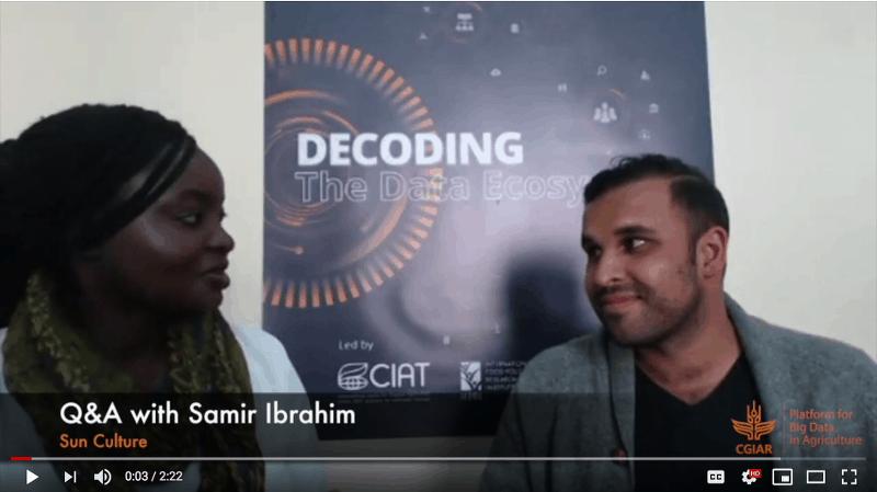 Q&A with Samir Ibrahim from Sun Culture