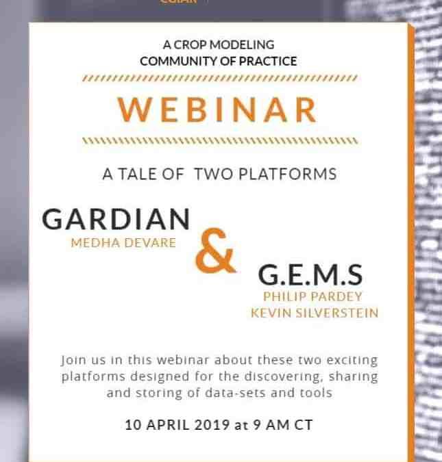 Webinar – Tale of Two Platforms: GEMS & GARDIAN