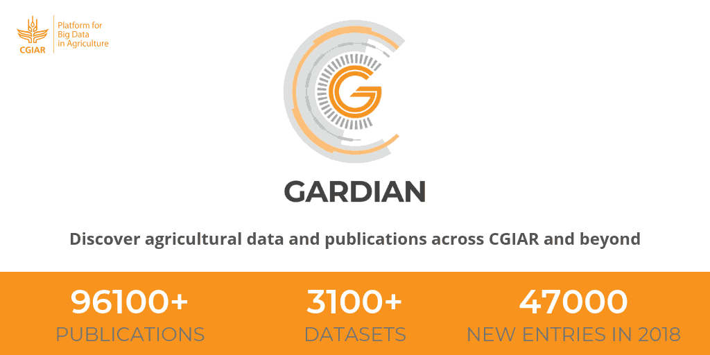 GARDIAN enables data discovery across CGIAR and beyond