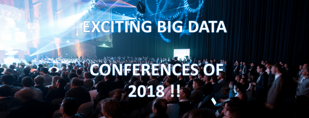 The top Big Data conferences that we are looking forward to this year