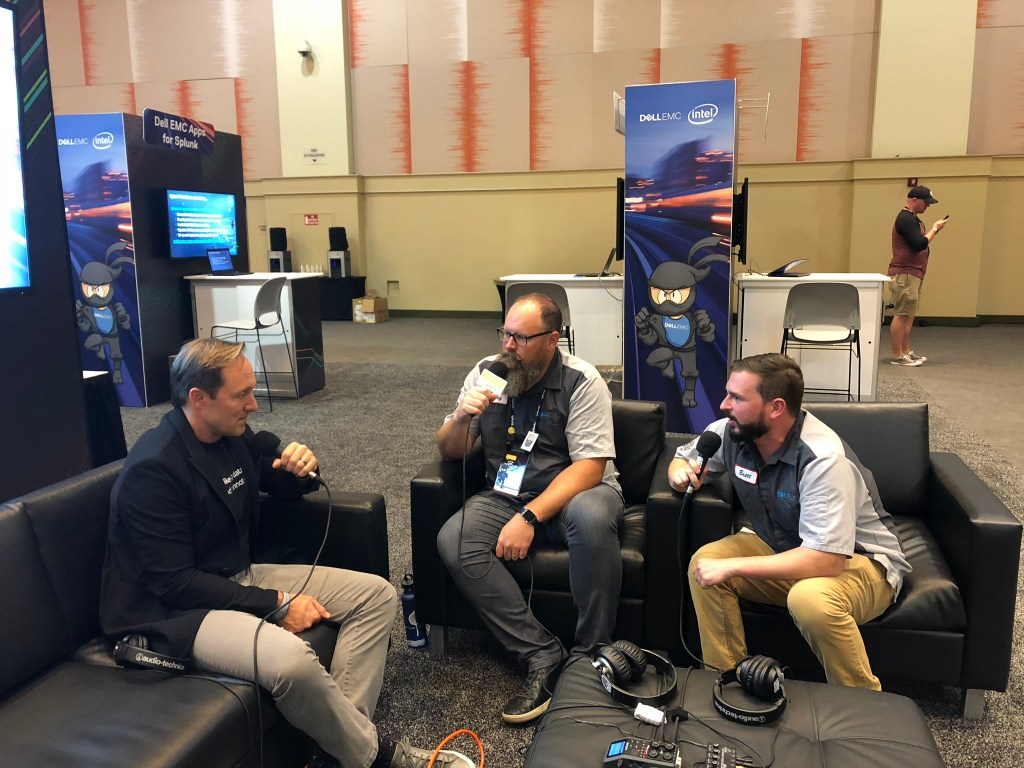 Splunk CEO Doug Merritt and Big Data Beard