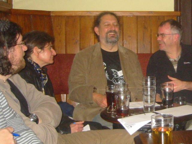Jon, Quaiteaux, Beermagnet & Andy