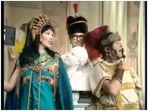 Glenda Jackson in one of the plays what Ernie Wise wrote