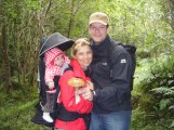French family at Folwleys Falls Co. Leitrim