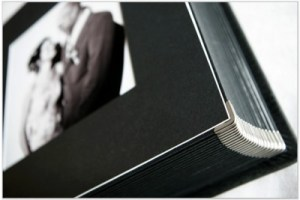 wedding Album with Matt Black finish