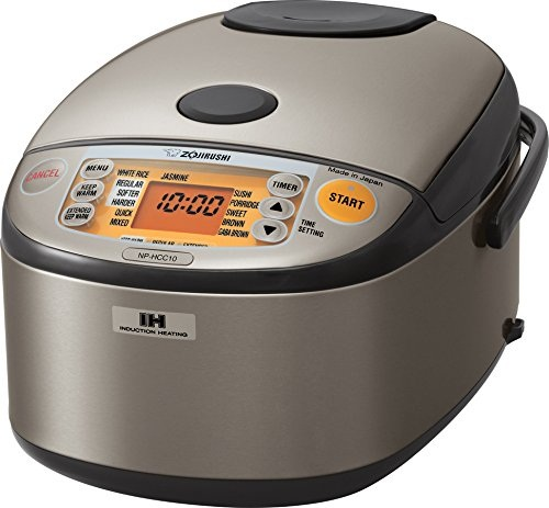 Zojirushi NP-HCC10XH Rice Cooker and Warmer