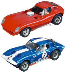 Carrera Digital 124 Slot Car Race Track Sets - Titans of Racing
