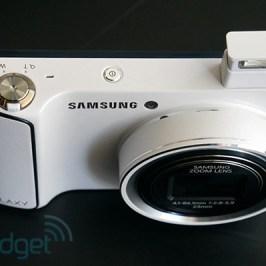 Samsung Galaxy Digital SMART WiFi Camera EK-GC100 16MP Android 1.4GHz