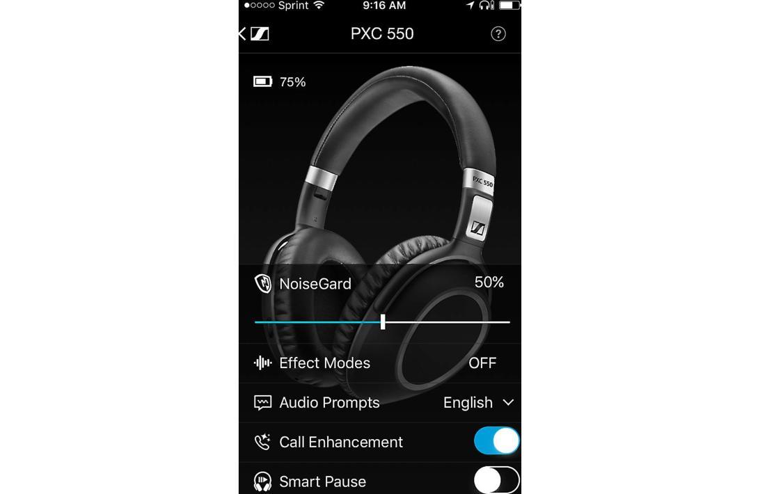 Bluetooth Headphones and Headsets PXC 550 Wireless Headphone