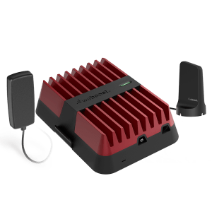 Weboost – Drive Reach Cellular Signal Booster Kit With Magnetic Antenna – Red And Black