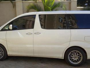 Toyota Alphard For Hire